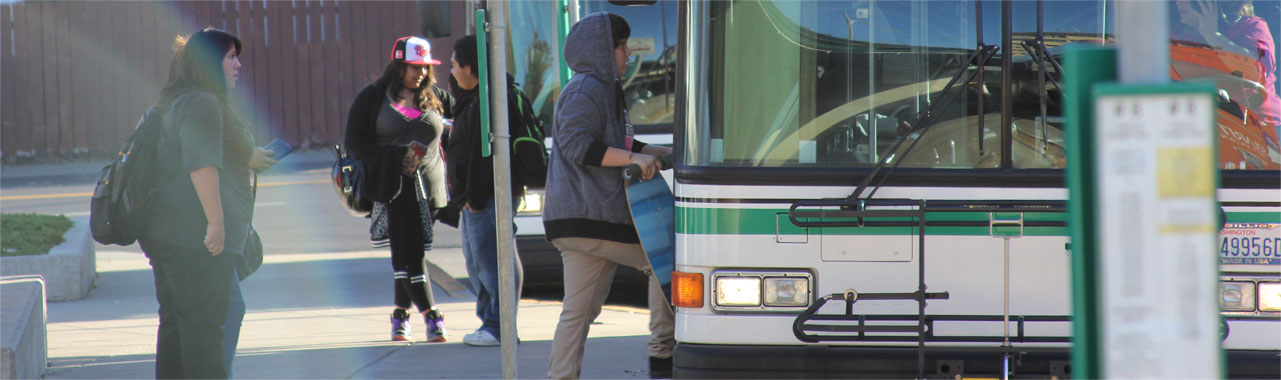 Transit Center Students